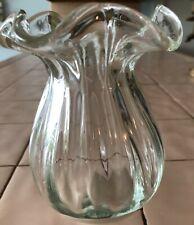New listing Vintage Victorian hand-blown glass vase