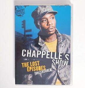 Dave Chappelle Show Lost Episodes Stand Up DVD Movie Region 4 AUS Free Post