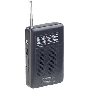 Mini Radio: Analoges Taschenradio TAR-202 mit UKW- und MW-Empfang