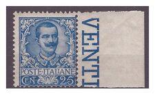 REGNO 1901  - FLOREALE  - 25  Cent NUOVO  **  BDF