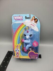 WowWee  Fingerlings Stella Blue Unicorn Interactive Toy