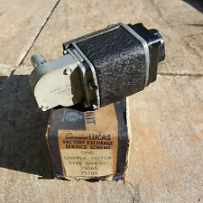 LUCAS SW4 6V WIPER MOTOR FACTORY EXCHANGE UNIT AUSTIN MORRIS WOLSELEY STANDARD 8