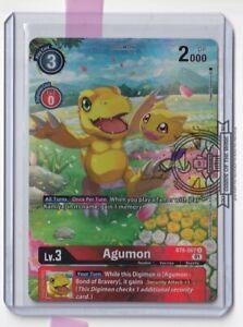 Agumon BT6-007 U Alt Art Double Diamond Digimon TCG