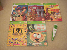 LeapFrog Tag Reader (Green) and 5 Tag Books