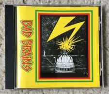 BAD BRAINS - BAD BRAINS CD (HARDCORE PUNK ROCK I IN TO THE ON IT RIGHT LOVE) *VG