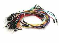 50pcs SOLDERLESS BREADBOARD WIRE JUMPER JUMP CABLES ARDUINO KIT PIC RASPBERRY PI