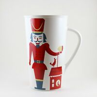 Starbucks Nutcracker Coffee Cup Mug 2012 Christmas Toy Soldier 16oz
