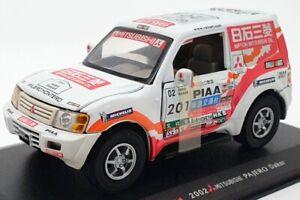 Saico 1/32 Scale Model Car TQ126TL- 2001 Mitsubishi Pajero Dakar