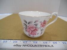 Royal Sutherland H&M English Fine Bone China Pink Floral Tea Cup - Euc