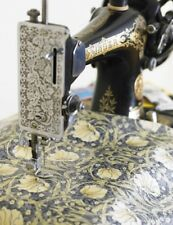 William Morris Pimpernel Cream Pvc / Oilcloth Fabric By The Half Metre