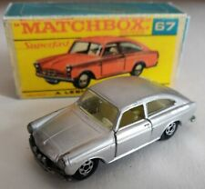Matchbox superfast lesney 67 Volkswagen 1600 TL 1970 Custom/Crafted box