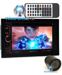 "pkg SOUNDSTREAM VR-624B 6.2"" TV CD MP3 DVD BLUETOOTH USB SD AUX + BACK-UP CAMERA"