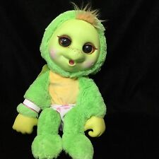 "Jakks Pacific Animal Babies Baby Turtle Green Plush Soft Toy  11""  Stuffed"