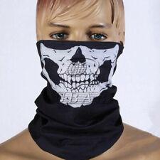 Black Skeleton Ghost Skull Face Mask Biker Balaclava Costume Halloween Cosplay