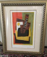 Nicely Framed Picasso Lithograph Limited Edition 88/500 STILL LIFE