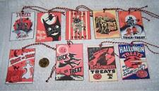 Halloween~Retro~Trick or Treat~Linen Cardstock~Gift~Hang~Tags