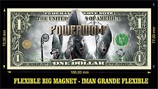 Powerwolf Blood Of The Saints IMAN BILLETE 1 DOLLAR BILL MAGNET