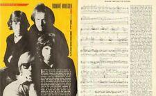 1991 Robbie Krieger - Guitarist for The Doors - 4-Page Vintage Article