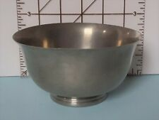 """New listing Poole Pewter Small Bowl, 5"""" Diameter, 2-3/4"""" Tall, 2204"""