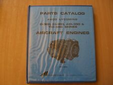 Parts catalog list Avco Lycoming o io AIO Quantiiativi - 360 serie Aircraft Engines
