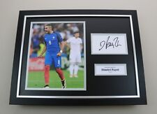 Dimitri Payet Signed Photo Framed 16x12 France Autograph Memorabilia Display COA