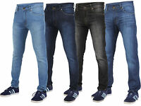 Mens Denim Jeans Skinny Fit Designer Stylish Trousers Pants All Waist And Sizes