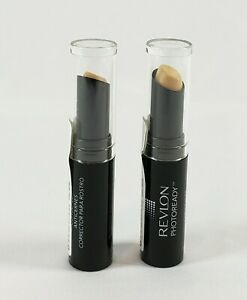 Revlon PhotoReady Concealer Fair 001, 0.11 oz/3.2 g Set of 2 Stick / Baton New
