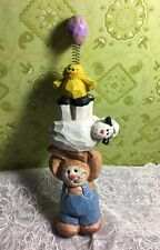 Eddie Walker Midwest Of Cannon Falls Bunny Sheep Chick Totem Pole Balloon 6-1/2""