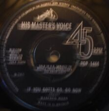 "MANFRED MANN - If You Gotta Go Go Now ~ 7"" Single"