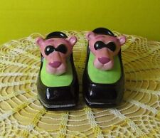 2000 Vandor The Pink Panther Loafers Shoes Salt & Pepper set
