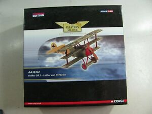 627  Corgi Aviation Archive AA38302 Fokker Dr1 Lothar von Richthofen