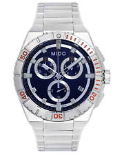MIDO OCEAN STAR CAPTAIN BLUE DIAL CHRONOGRAPH QUARTZ SWISS  MEN'S WATCH  $750