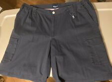 NORTH 56'4 Navy Cargo Chino Shorts size 3XL