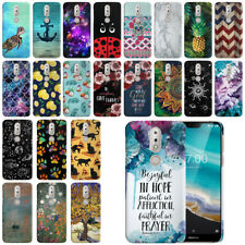 """For Nokia 7.1 2018 5.84"""" Design HARD Protector Back Case Phone Cover"""