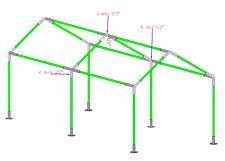 Garden Canopy Fittings For Sale In Stock Ebay