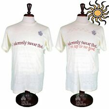 Wizarding World of Harry Potter Marauders Map Color Change T-shirt  M