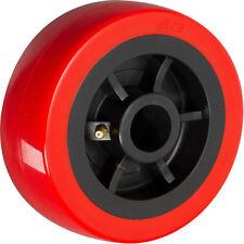 """8"""" x 2"""" Polyurethane on Plastic Wheel with Bearing - 1 EA"""