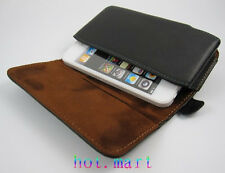 for Apple iPhone 8 7 6s 4.7 Genuine Leather holster Belt clip Case Cover Pouch