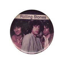 The Rolling Stones VINTAGE Original Photo Pin button  Mick Jagger RARE richards