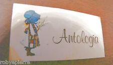 ADESIVO sticker adesivi stickers vintage HOLLY HOBBIE ANTOLOGIA bimbi bimba vedi