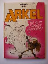 ARKEL - LES SEPT DIABLES SUPERIEURS - Hardy Desberg  EO