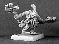 Logan Dwarf Warlord Reaper Miniatures Dwarves Barbarian Ranger Melee Hammer Axe