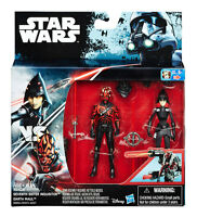 "STAR WARS REBELS SEVENTH SISTER INQUISITOR VS. DARTH MAUL / 3,75"" ROGUE ONE"