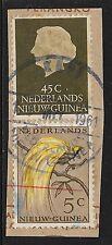 Netherlands New Guinea 1961 BestelhuisCANC KEPI on fragment