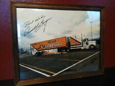 RARE DARRYL GWYNN Photograph Nhra Drag Racing Legend Autographed dragster