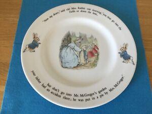 Wedgewood Beatrix Potter Peter Rabbit Large Plate