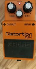 NICE Boss DS-1 Distortion Guitar Effect Pedal. Satriani. In front of dirty amp!
