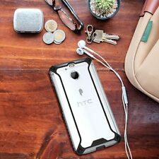 Case For HTC Bolt Poetic【Affinity】Protective Bumper Soft Shock proof TPU Black