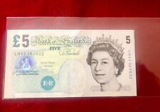 OLD £5 NOTE BANK OF ENGLAND POUND 2004 ELIZABETH FRY SIGNED BY ANDREW BAILEY