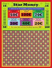 Stechbrett - Knobelbrett - Star Money - 1200 Stiche